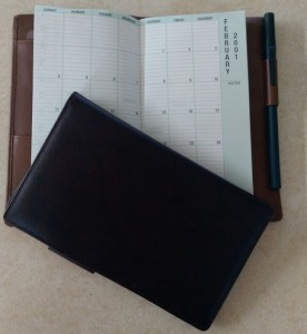 Day-Timer daily planners from 2001