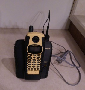 Old waterproof cordless phone.