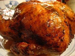 Turkey cooked and ready to eat