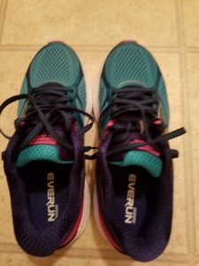 New pair of running shoes.