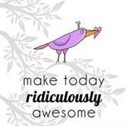 "Word-art that says ""Make today ridiculously awesome."""